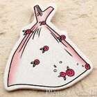 20 to 100 Stick On Wooden Evening Gown Embellishment Wedding Scrapbooking