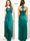 Donna Bella Greek Style Halter Neck Bridesmaid Evening Cocktail Party Dress