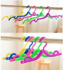 Candy Colors  Magic Portable Folding Plastic Clothing Coat Hanger Travel Hanger
