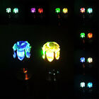1 Pair Men Women Led Light Up Earrings Studs Xmas Dance Party Club Decoration