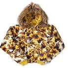 Adidas Jeremy Scott ObyO Golden Flower Down Jacket Coat EXTREMELY RARE