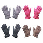 G102 LADIES DESIGNER WINTER WARM SNOWFLAKE DESIGN SNOW HIKE WALKING SKI GLOVE