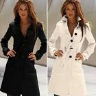Fashion Autumn Winter Casual Jacket Waistcoat Women Wool Coat Overcoat DJNG