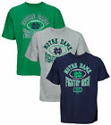 NCAA College Men's Notre Dame Fighting Irish Logo Tee T-Shirt, Several Colors
