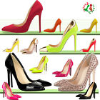 Womens Shoes Sexy High Heels Pointed Fashion New Style Work Pumps Court US4-11