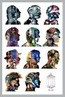 New Doctor Who Eleven Famous Doctors In Silhouette Dr Who Poster