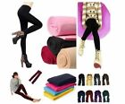Fashion Womens Winter Pants Thick Stretch Skinny Colorful Warm Footless Leggings