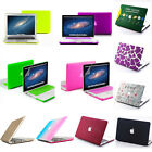 23 Color Rubberized Hard Case Cover For MacBook Air Pro 11 13 15 '' + Retina