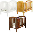 East Coast ANNA SOLID PINE DROPSIDE COT + 3 BASE HEIGHTS Baby Nursery BN