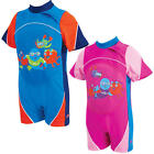 Zoggs SWIMFREE BABY FLOATSUIT Toddler/Child Buoyancy/Swim Aid Pool/Beach BN