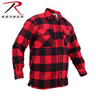 Rothco Extra Heavyweight Sherpa-Lined Flannel Jacket - Blue, Red, White, & Green