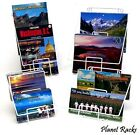 Planet Racks Universal Double Pocket Counter Display Stand - 14 Styles