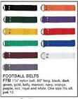 FFB  MARTIN FOOTBALL BELT ALL COLORS