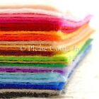 1mm Felt Sheet Choose Your Own Colour/ Felt in Set 30cm x 20cm
