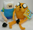 Adventure Time Finn Jake Peluche 30 cm Nuovo Originale Cartoon Network Pupazzo