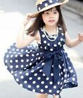 New Dot Girl Dress Children Clothing Kids Clothing Girls Polka Dot Dress