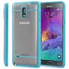 Vena Transparent Ultra Thin TPU Rubber Hybrid Case Cover Samsung Galaxy Note 4