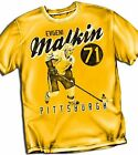 Evengi Malkin Pittsburgh Penguins Adult Size T - Shirt Yellow