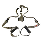SUSPENSION TRAINER STRAPS KIT-BODY WEIGHT GYM TRAINING MMA WORKOUT CROSSFIT