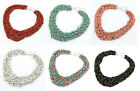 Wholesale lots hot Fashion Personality Punk beads thick chain Pendant Necklaces