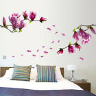 Removable Cherry Blossom Flower Butterfly  Wall Sticker Wall Decor New