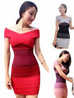 Women Ladies Sexy Bodycon Sleeveless Bandage Cocktail Mini Dress Evening Party