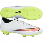 Nike Mercurial Victory IV FG 2014 Soccer SHOES Brand New White / Volt / Coral