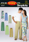 Sew & Make Simplicity 2037 2423 SEWING PATTERN - Easy Adult LOUNGE PAJAMA PANTS