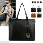 NEW Womens Handbag Shoulder Bag Tote Satchel Faux Leather Purse Large