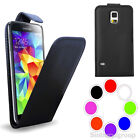 for SAMSUNG GALAXY S4 MINI i9190 FLIP CASE PU LEATHER COVER WALLET+ SCREEN GUARD