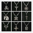 Mens Unisex Stainless Steel  Leopard 316L Newest Necklace Pendant In 10 Styles