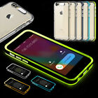 LED Blink Light Remind Incoming Call TPU+PC Cover Case Skin For Iphone 5 6/6Plus