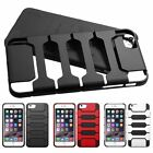 """For iPhone 6 6S Plus 5.5"""" Hard Soft Silicone Hybrid Rubberized Case Cover"""