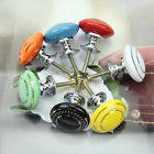 Hot Retro Style Ceramic Pull Handles Kitchen Drawer Cabinets Cupboard Door Knobs