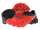 SALOMON Mens S-LAB SENSE 3 ULTRA SG Red/Black Synthetic Running Shoes L36189800