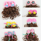 1 Pair Multiple Designed Wavy Wigs Hair Clips Hairpiece Girl Kid Fashion Gifts