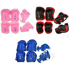 Kid Cycling Roller Skating Knee/Elbow/Wrist Guard Protective Pad Gear 3 Colours