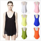 Womens Modal V-neck Tops Tank Vest Sleeveless Dress T-Shirt Casual Blouse Soft