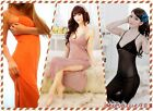 Woman Sexy Chiffon See Through Backless Deep-V Sling Dress Lingerie Sleepwear