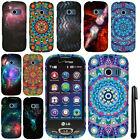 For LG Extravert 2 VN280 Mandala Galaxy PATTERN HARD Case Phone Cover + Pen