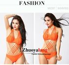 Fashion Women Sexy Underwear Swimwear Bandage Beach Strappy Steel Prop Bikini LA