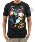 Harley-Davidson Mens Jester Willie G Skull Mask Black Short Sleeve Biker T-Shirt