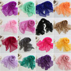 Best Mother's Gift  Long Soft Chiffon Scarf Wrap Shawl Stole Scarves