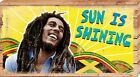 Bob Marley Sun Is Shining Canvas Print 55x30cm