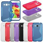 For Samsung Galaxy Core Prime G360 G3606 S-Line Wave Slim Soft TPU Case Cover