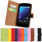 Magnetic Leather Wallet Stand Flip Cover Case Holder For LG Nexus 4 E960 GFY