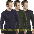 NATO SECURITY ARMY DOORMAN MILITARY JUMPER THICK RIB KNIT WARM PULLOVER UNIFORM