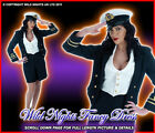 FANCY DRESS 1940'S WW2 NAVY OFFICER LADY SIZES 6-22