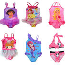 Girls Princess 2-8Y Swimsuit Child Swimwear Bathing Costume Tankini Bikini NWT
