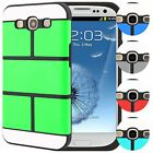 Samsung Galaxy S3 Case Puzzle Hybrid TPU Slim Fit Switch Panel Phone Cover